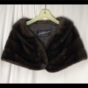 Real Mink Stole/Cape